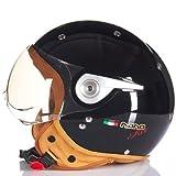 Motorcycle ECE Safety Half Face Helmet A...