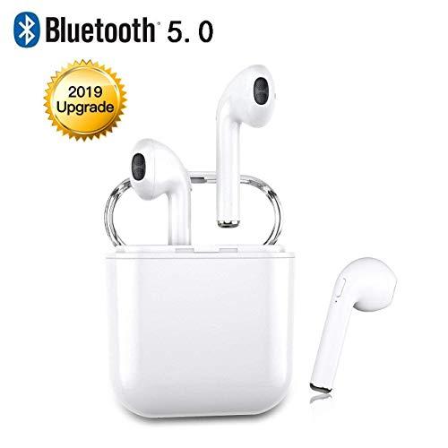 RedieS20 Bluetooth Kopfhörer kabellos kopfhörer V5.0 Mini-Sportkopfhörer In-Ear-Kopfhörer, Unterstützung für binaurale Anrufe, CVC8.0-Rauschunterdrückung, für Apple Airpods iOS Android Mac PC Tablet - Ohrhörer Für Farbe Apple