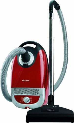 41mfY8t8uIL - BEST BUY #1 Miele Complete C2 Cat and Dog Power Line Bagged Cylinder Vacuum Cleaner, 4.5 L, 1200 W - Red Reviews and price compare uk