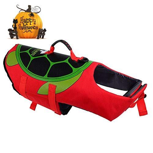 My Little Paw Schwimmweste für Hunde, verstellbar, mit weichem Rettungsgriff, M (Hunde Kostüm Schildkröte Für)