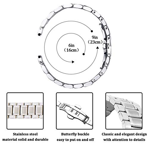 Zoom IMG-3 22 millimetri in acciaio inox