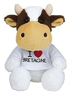Cijep-Peluche Vaca Camiseta Breizh, 23567