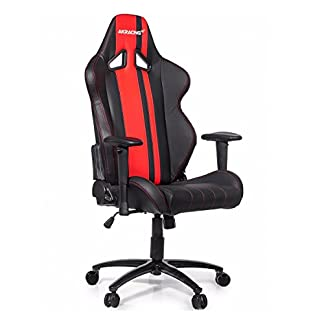 AK Racing Rush – Silla para Gaming, Color Negro y Rojo