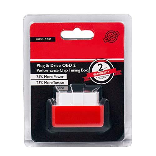 Nitro OBD2 Chip Tuning / Remap Box,OBD ii Diagnosegerät, Fuel Saving Diagnostic Werkzeuge für Ihr Dieselauto und Trucker