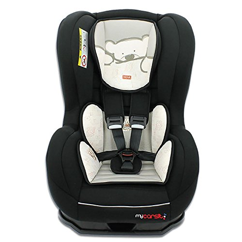 Autositz von 0bis 18kg mit Protektoren seitliche-Herstellung 100% Französische-3Sterne Test TCS-32Farben-und Hörnchenkissen Sitzfläche gepolstert.