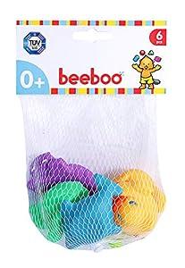 VEDES Großhandel GmbH - Ware beeboo Baby de baño Animales, 6Unidades