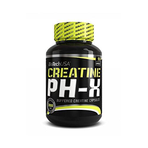 CREATINE PH-X - Biotech Usa - Creatina Tamponata 90 caps - 41mfdiO2EYL