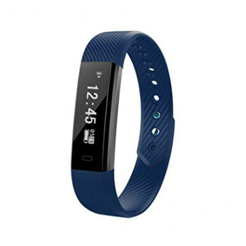 GengYouYuan Podomètre ID115 Smart Bracelet Appel Rappel Sport étape Count Sommeil Surveillance Bluetooth Bracelet GengYouYuan