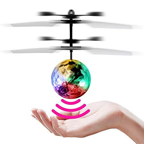 StillCool RC Fliegender Ball Infrarot Induktionshubschrauber Kinder Fliegen Spielzeug Eingebaut Shinning LED-Beleuchtung
