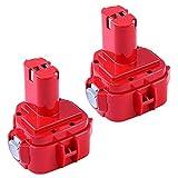 2X BL1860B 5.5Ah Remplacement Batterie pour Makita 18V