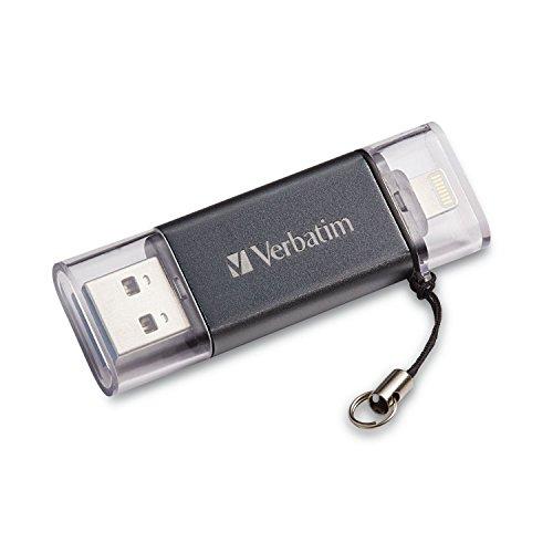 Verbatim USB 3.0 OTG Palillo De 32 GB, Rayo, Istore para El iPad De Apple,...