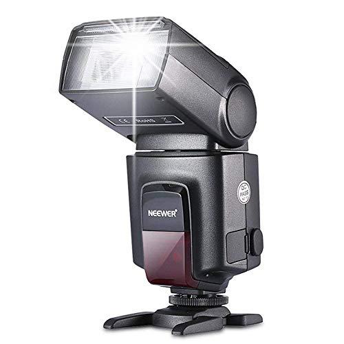 Neewer TT560 Kamera Blitz Speedlite für Canon Nikon Panasonic Olympus Pentax und andere DSLR-Kameras, Digitalkameras mit Standard-Blitzschuh