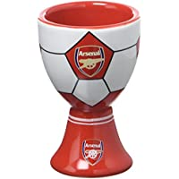 Arsenal Ceramic Egg Cup - Red
