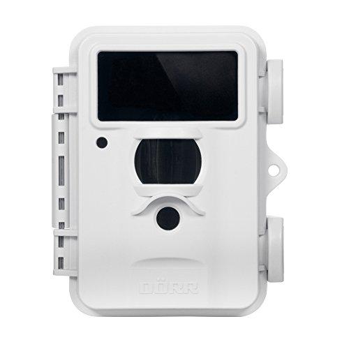 Dörr Fotofalle und Überwachungs-Kamera Snapshot Mini Black 5.0 mit 40 Black Vision LEDs, Gehäuse weiß