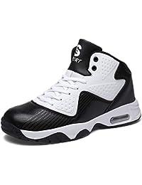 K T Basketball Schuhe Herren Damen Komfort-Schnür Sportschuhe Rutschfeste  Laufschuhe Atmungsaktiv TrainerTurnschuhe Paar Outdoor Freizeit c1726a8413