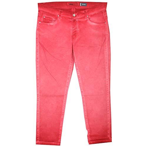 Angels, Ornella 7/8 Ankle, 7/8 Damen Jeans Hose, Gabardine Stretch, kirschrot Oil, D 44 Inch 34 L 26 [21730]