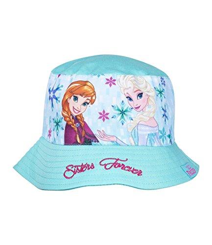 Disney Die Eiskönigin Elsa & Anna Mädchen Sommerhut - türkis - 54