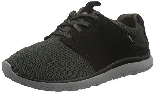 merrell-getaway-lace-scarpe-da-ginnastica-basse-uomo-nero-black-charcoal-meshblack-charcoal-mesh-44-