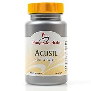 Progressive Health - Progressista Acusil: Natural Borsite Relief, Approvvigionamento Di 30 Giorni