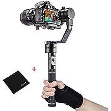 Zhiyun Crane 3-ejes 3-Axis soprte portátil estabilizador cardán de mano para Cámara de DSLR DSLM cámara compacta con TARION paño y muñequera