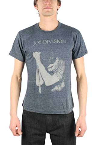 Joy Division - - Ian Curtis Men's T-Shirt in Heather Navy, Small, Heather Navy