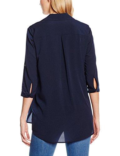 Bonita 1205264, Blouse Femme Bleu - Bleu marine (6593)
