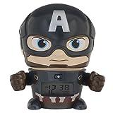 Réveil veilleuse avec sons du personnage pour enfant BulbBotz Marvel 2021722...