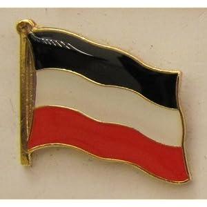 Pin Anstecker Flagge Fahne Deutsches Kaiserreich Deutschland Flaggenpin Badge Button Flaggen Clip Anstecknadel