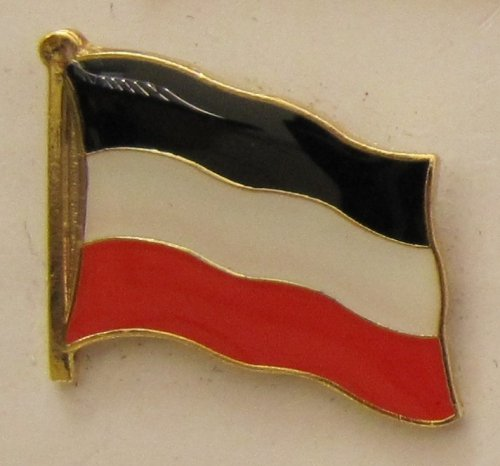 Pin Anstecker Flagge Fahne Deutsches Kaiserreich Deutschland Flaggenpin Badge Button Flaggen Clip Anstecknadel