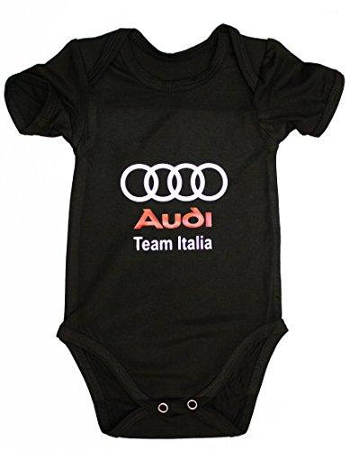 Audi Quattro Traje Body Bebe Logotipo Etiqueta Pegatinas de la Camiset