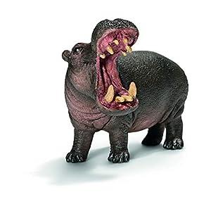 Schleich - Edición Especial Figura Hipopótamo, 7 cm