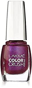 Lakmé Truewear Color Crush, Purple, 9ml