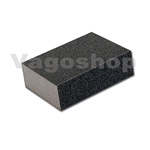 1 Stück Schleifschwämme 100x75x25mm Schleifblock Schleifklotz Korn 150