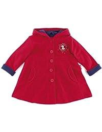 sigikid 146004-098 Fleece-Mantel Baby rot Gr. 098