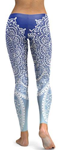 Belsen - Legging - Femme multicolore Gem mermaid Leggings Medium Pattern