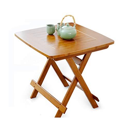 WLDSH Bequemer Kleiner Tisch Klapptisch Freizeittisch Tragbar Tragbar Kleiner Tisch Moderner minimalistischer quadratischer Tisch Kleiner Apartment-Esstisch Einfach zu verwenden (größe : C) -