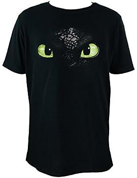 Dreamworks Dragons–Camiseta infantil: sin dientes/Ojos