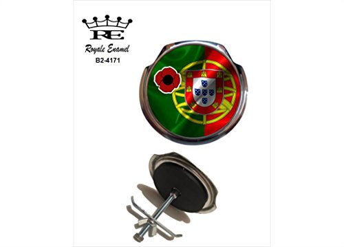 Royale Emaille Royale Car Grill Badge - Portugal Poppy B2. 4171 Schale