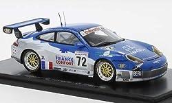 Unbekannt Porsche 911 GT3 RS, No.72, 24h Le Mans, 2002, Modellauto, Fertigmodell, Spark 1:43