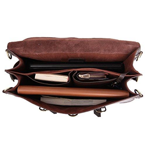 8bf9bcb612 ... Leathario sac a main en cuir sac a dos sac messager cuir sac  bandouliere cuir homme ...