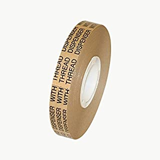 Scapa TD-200 ATG Tape: 1/2 in. x 36 yds. (Clear Adhesive on Tan Liner)
