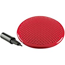 Ultrasport 331100000182 - Cojín de equilibrio sin ftalatos, color rojo