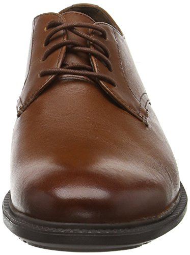 Timberland Arden Heights, Chaussures à Lacets Homme Marron - Braun (Saddletan Inca FG)