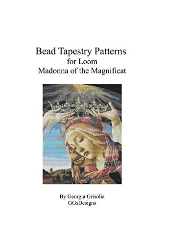 Bead Tapestry Patterns  for Loom Madonna of The Magnificat  by Botticelli (English Edition) -