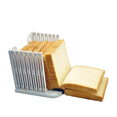Zhi Jin 1Multifunktions Kitchen Backform für Brot Schneide zum Scheiben schneiden Guide Schere Werkzeug