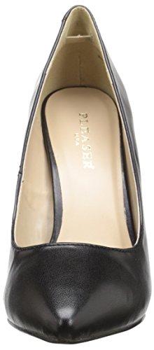 Pleaser Amuse 20- Scarpe con tacco donna Nero (Black (Blk Faux Leather))