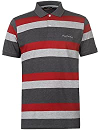 971ae7c95e033 Pierre Cardin - Camisa Polo con punta - Camisa Polo para hombre manga corta  - Camiseta