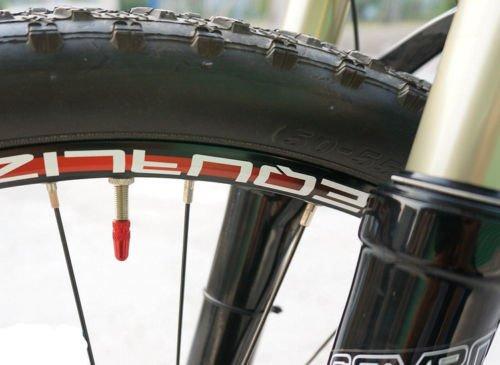 Gazechimp Aluminum Fahrrad Presta Ventilkappen – Lila - 2