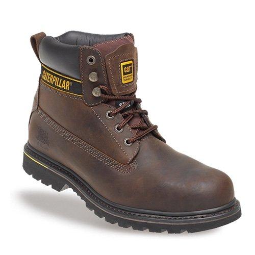 Holton (Caterpillar Chaussures de sécurité Marron Size 9 marron