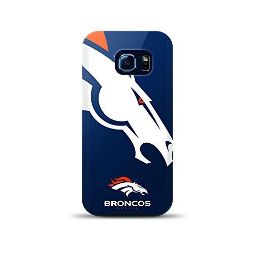 Mizco Sport Fall Samsung Galaxy S6Edge Lizenzprodukt TPU NFL Denver Broncos Fall (Sport Mizco)